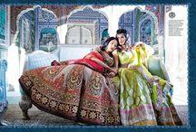 Outfits / Saris lehengas blouses
