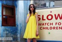 Crazy for yellow / Rochie din voal