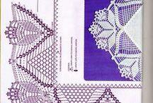 πλεκτές  άκρες- crochet edges
