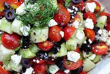 σαλάτες - salads / Make and eat salads