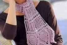 Crochet scarf / Κασκόλ με βελονάκι