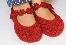 Slippers - Πλεκτά παπούτσια, κάλτσες