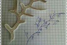 crochet sea motifs