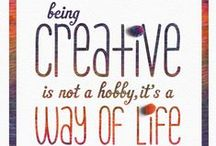 Crafty Quotes / Fun, crafty quotes and words to live by for crafters, yanaholics, and anyone who loves to create! www.annwilliamsgroup.com