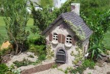 Fairy gardens, gnome homes and a place for nature spirits to dwell. / A place for the magic folk