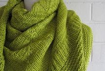 Knitting - Scarves, Cowls & Shawls