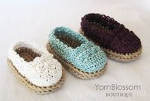 Baby Booties (knit-crochet)