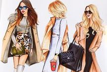 Fashion sketched