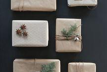 Gift Wrapping İdeas / Paketleme