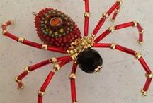 spiders- beads