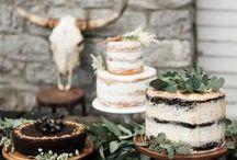 NAKED CAKE / La nouvelle tendance qui remplace le wedding cake. Un gâteau avec tout ce qu'il y a de plus naturel en guise de décoration : fleurs ou fruits