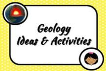 Science: Geology / Science activities for the classroom that are about Earth sciences. This is my favourite part of science!