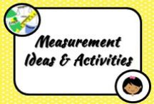 Math: Measurement / Math ideas for my classroom that won't bore my students to death! Let's get them off their seats and learning with hands-on activities!