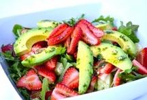 Food--Salads / Salads of all kinds:  green, fruit, potato, and more