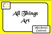 Art / Art activities and ideas for the classroom in order to inspire students to tap into their own unique creativity and express it in a way that no one else can!