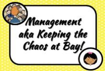 Management / Ideas for managing different aspects of the classroom including paperwork and behaviour.