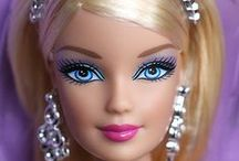 barbie dolls......