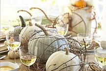 Fall / Decorating and DIY inspiration for Fall and Autumn! Pumpkins, apples and all things harvest!