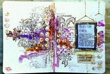 13@rts - DT Art Journal / Art journal pages and spreads from our amazing 13@rts DT.