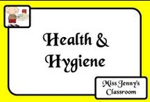 "Health / Health is not always the most popular subject with kids or teachers. Then again what teacher hasn't had to have the ""booger talk"", ""wash your hands talk"" and not to mention the ""spitting talk"" - amongst others. We all need to survive the year without getting too sick!"
