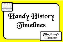 History: Timelines / Knowing about history is one thing - knowing the order in which it happened is another. Let's see if we can make it fun, engaging and worthwhile!