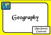 Geography / Ideas for teaching about geography without boring my students to tears. Who knows that activities you might find on here!