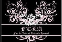 FTLA Apparel / FTLA Apparel is an Eco-Friendly, Cruelty Free, High end, Fashionable line of clothing for Animal Lovers, Advocates, Rescuers, Vegans, Vegetarians, Pets and Their Humans!   www.FTLAApparel.com