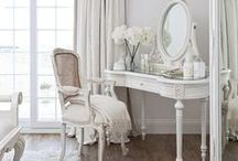 White & Sometimes Shabby / Shabby chic white......most things shabby but oh so pretty...by Mulberry Moon