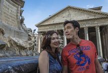 Holiday photo shoots with couples in Rome / A romantic and fashion photo gallery with pictures from different photo shoots with couples. Enjoy these holiday photo shots taken in Colosseum, Trastevere, Spanish Steps, Pantheon, Saint Peter Basilica, Vatican , Gianicolo and many other places in Rome.