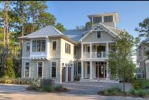 Exteriors / A sample of our custom homes built in WaterColor and WaterSound, FL.