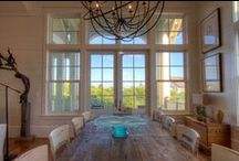 Dining Rooms / Custom dining rooms by Borges Brooks Builders along the scenic 30A corridor.