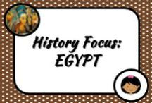 History: Egypt / Lots of little goodies associated with ancient Egypt!