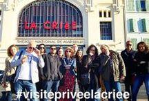 #VisitePriveeLaCriee / Le Théâtre La Criée invite 15 passionnés de photographie mobile, membres de la communauté Instagram, les Igers Maseille [http://on.fb.me/1h9qp3u] à entrer au théâtre par l'entrée des artistes..