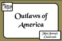 Outlaws Intrigue Me / In Australia we had bushrangers but in America they had outlaws. Why do I find them intriguing? No idea, but if you're curious have look over some of these sources.