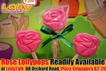 """Lollypops!!! Who can resist? / """"Roses are red violets are blue, lollypops are sweet but not as sweet as you!"""" These are are some of our lollypops, some are readily available in our shop and some of them are customized lollypop."""