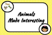 Science: Animals / New and old, exciting and brilliant ideas for teaching about animals and their habitats in the classroom.