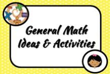 Math: General / These ideas and activities look great...I just didn't have a specific board to pin them to at the time!