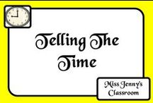Math: Time / Let's go past Mr Wolf and learn all about time and time concepts...before we run out of...time!