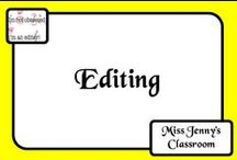 Literacy: Editing / I find it difficult to gets the students excited about editing - they write and think they are done - what ideas are out there to stop me going insane?