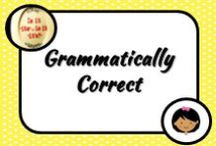 Literacy: Grammar / Grammar can be a tricky part of literacy to tackle as students find this is not the most thrilling of topics. Now where do I start and where do I go?