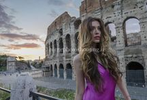 Fashion photo shoots in Rome / A unique gallery with pictures taken during our photo shoots in Rome City center. You can find shots with models and girls in Colosseum, Roman Forum, Spanish Steps, Navona Square and other beautiful places in Rome.