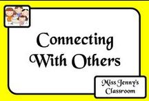 Connecting with Others / Ideas for connecting with other people and classrooms around the world to learn and share.