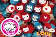 Hello Kitty Handmade Candy by LollyTalk; Friendship & Love Edition / Licensed Hello Kitty Handmade Candy by LollyTalk. Comes in limited quantity.