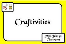 Craftivities / A collection of craftivity projects to do in the classroom on a wide variety of topics and themes.