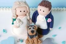 Cake Toppers / From cute to quirky, the perfect way to accessorise your wedding cake | Inspiration and real life weddings