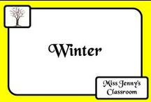 Theme: Winter / Ideas and activities for a winter theme.