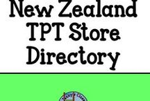TPT New Zealand Sellers / This is a board for the logos and links to stores owned and operated by New Zealanders to help with finding relevant work to use in the classroom.