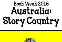 Book Week 2016: Australia - Story Country / A board with ideas, activities, display for Book Week 2016. Basically everything you need to have a ball this year with Book Week!