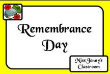Event: Remembrance Day / Activities for Remembrance Day