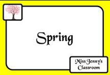 Theme: Spring / Ideas and activities for teaching about Spring with the class or at home with the kids. Please note that many activities may only be relevant to Spring if you live in the Southern Hemisphere!